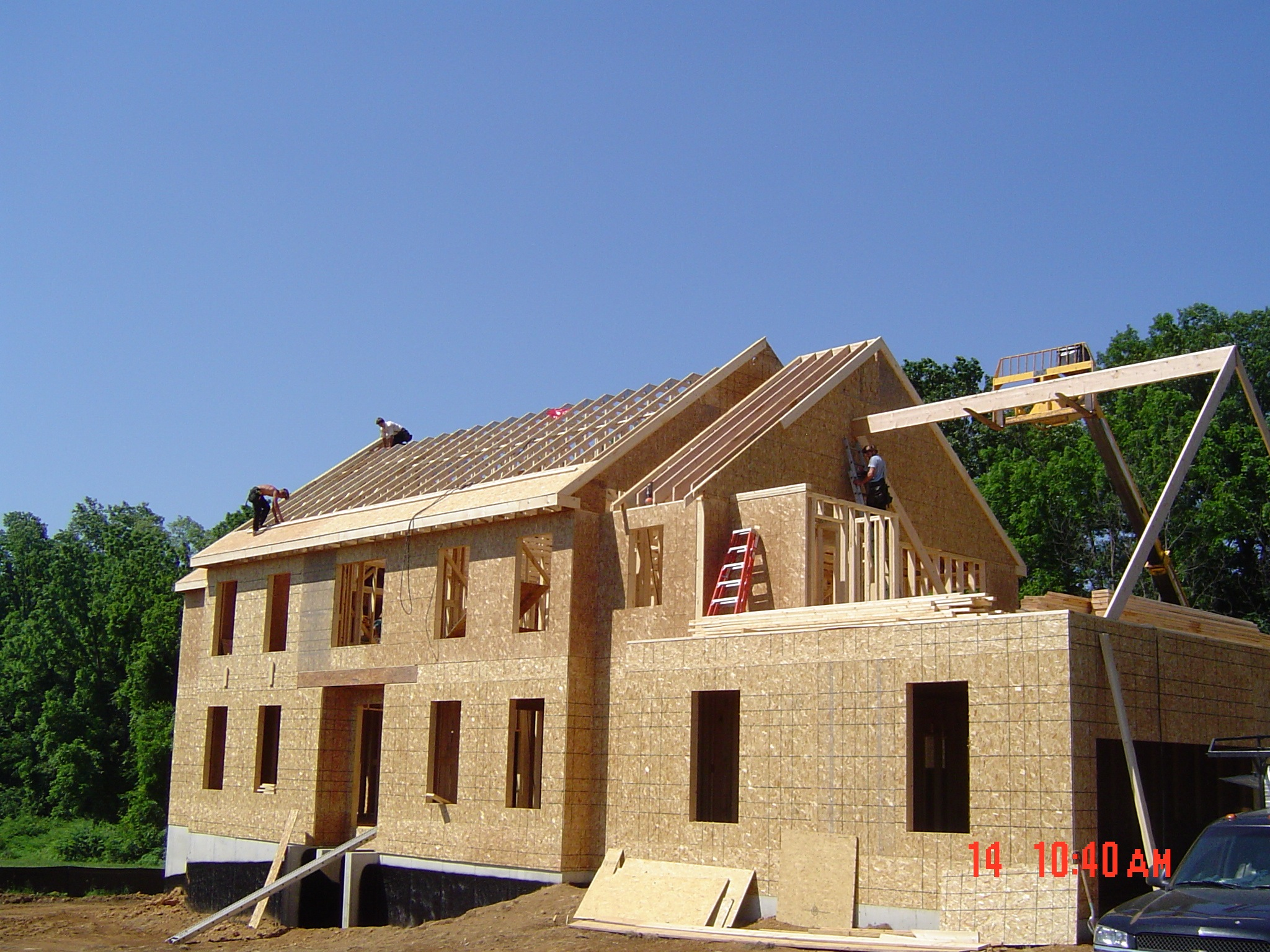 Home building process custom homes building contractor for Home built house