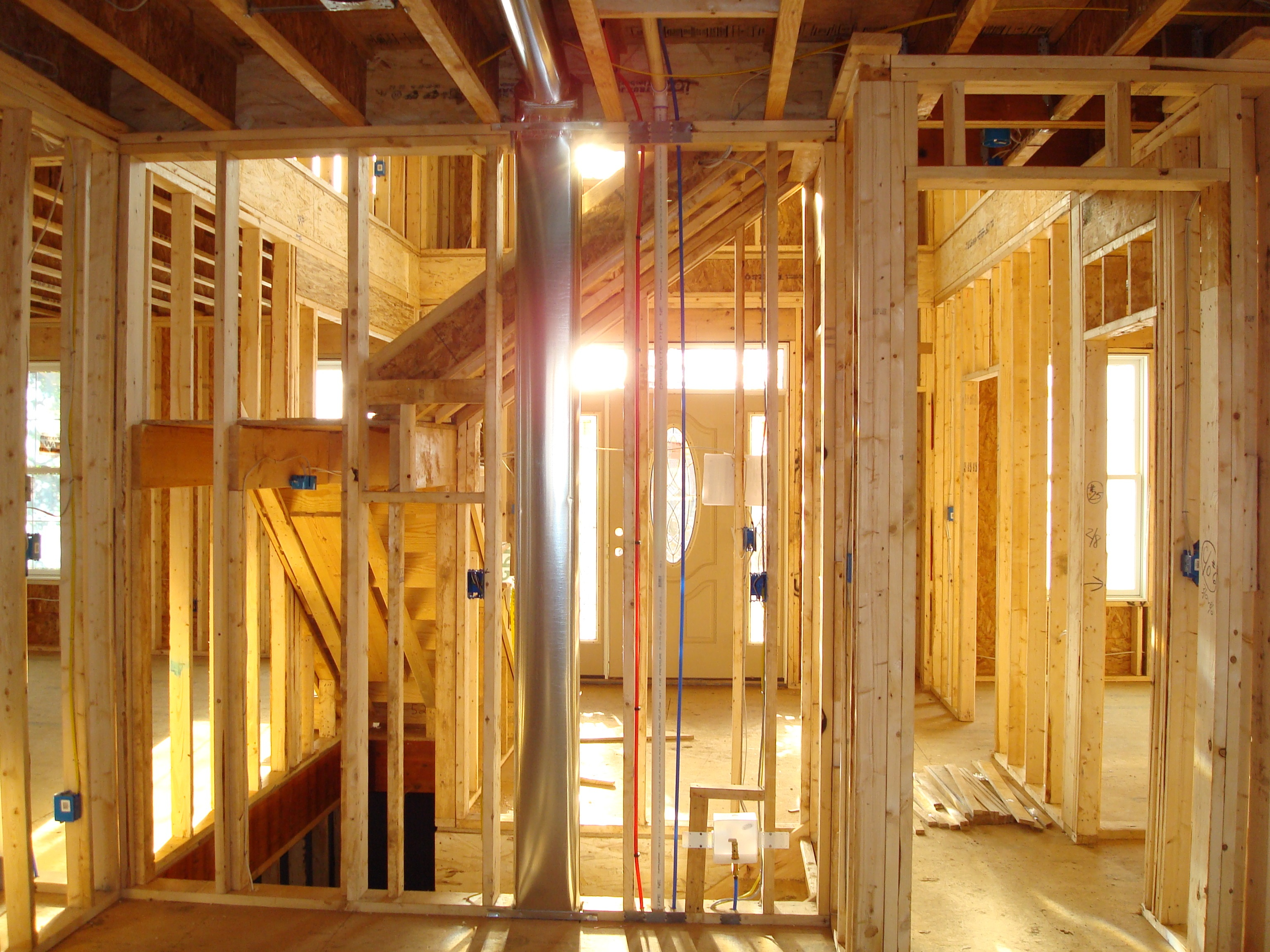 Home building process custom homes building contractor for Building a new home