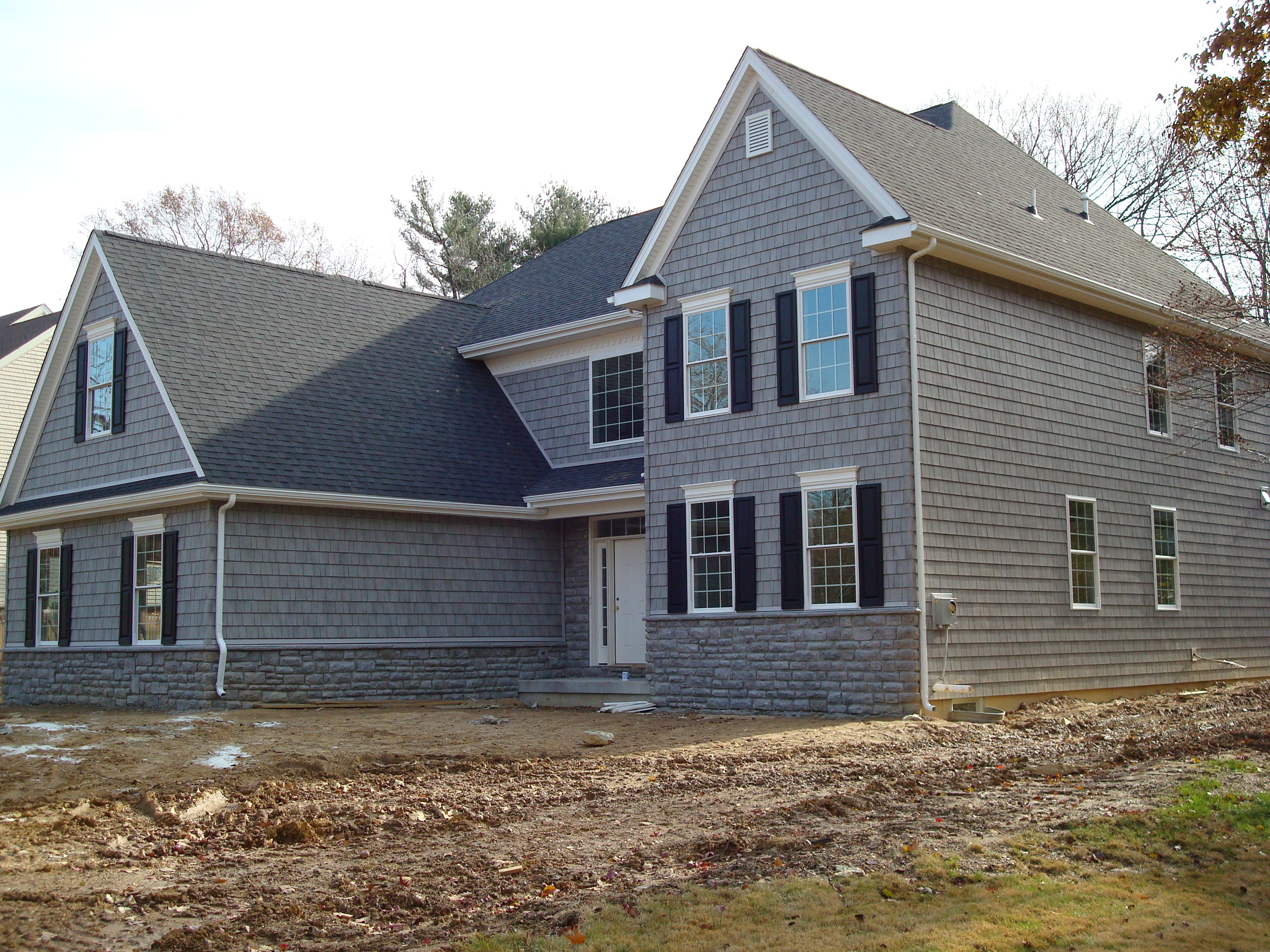 House exterior home remodeling contractors house building - Exterior materials for buildings ...