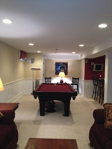 finished basement renovations